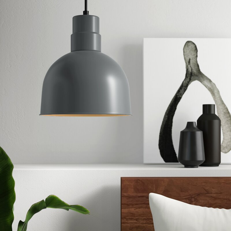Mercury Row Mohr 1 Light Single Dome Pendant Reviews Wayfair