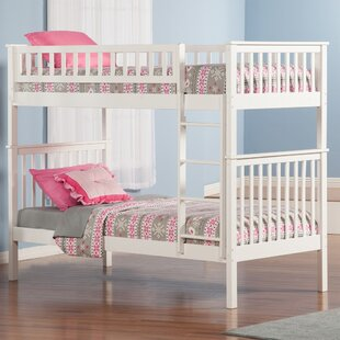 Shyann Twin Over Twin Bunk Bed by Viv + Rae Discount