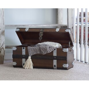 Affordable Collier Steel Band Trunk By Williston Forge