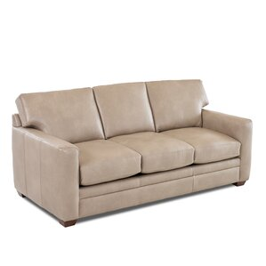 Carleton Leather Sofa by W..