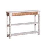 Stover 47.25 Solid Wood Console Table by August Grove®