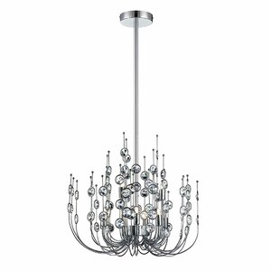 Vice 9-Light Candle-Style Chandelier