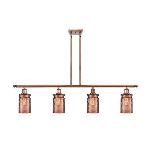 Copper Murano Kitchen Island Lighting You Ll Love In 2021 Wayfair