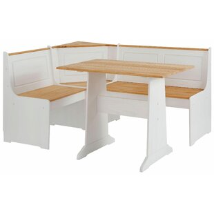 Nia Corner Dining Set With 1 Bench By Brambly Cottage