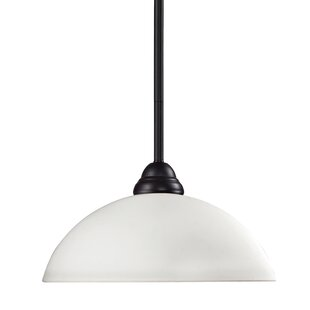 Red Barrel Studio Zephyr Dimmable 1-Light Inverted Pendant