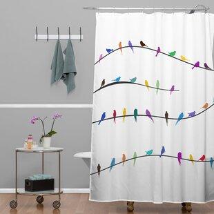Ketner Happy Spring Shower Curtain