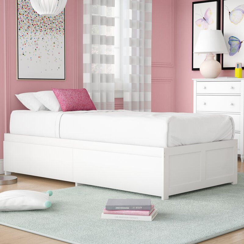 Isabelle & Max™ Bolick Extra Long Twin Platform Bed with Drawers