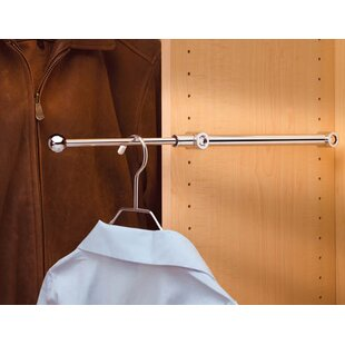 Closet Shelf With Rod | Wayfair