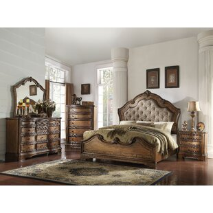 Bianca Upholstered Panel Configurable Bedroom Set by Astoria Grand