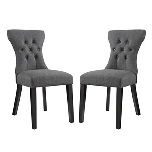 Bromborough Upholstered Dining Chair (Set of 2) House of Hampton