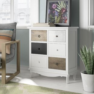 Sanderling 6 Drawer Chest Of Drawers By August Grove
