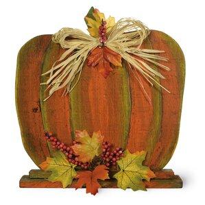 picket fence pumpkin - Halloween Decorations Indoor