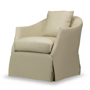 Swivel Armchair by Rosecliff Heights