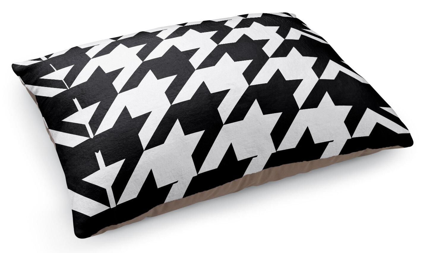 Kavka Oversized Houndstooth Pet Pillow | Wayfair