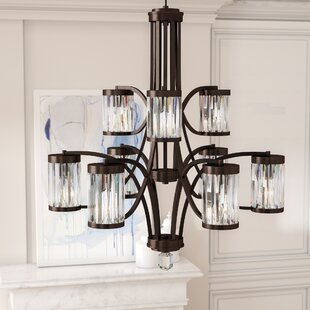 Westlake 9-Light Shaded Chandelier by Willa Arlo Interiors