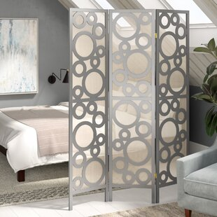 Shop for Isbell Bubble Design 3 Panel Room Divider ByLatitude Run