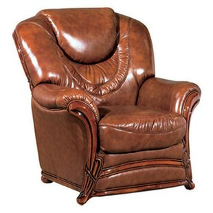 Reneau Wood Trim Armchair