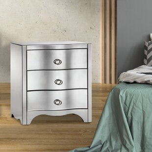 Sizemore 3 Drawer Nightstand by Rosdorf Park
