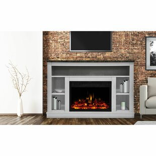 Seville Electric TV Stand for TVs up to 50 with Fireplace