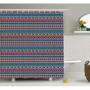 Beachmere Native American Style Single Shower Curtain