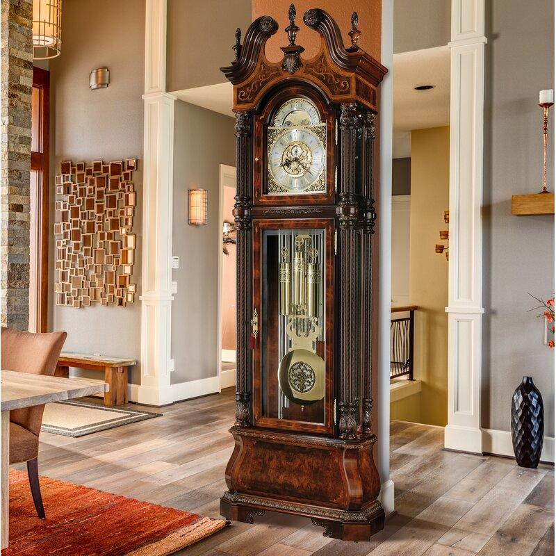 Howard Miller J H Miller 94 5 Grandfather Clock Wayfair