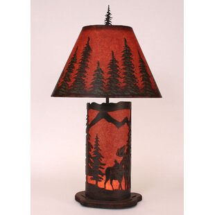 Graciela Moose Scene 31.5 Table Lamp