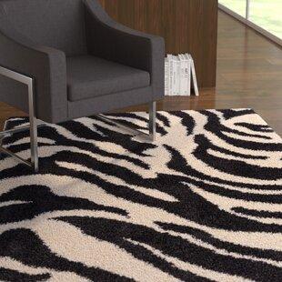 Affordable Dondre Black Indoor Area Rug ByEbern Designs