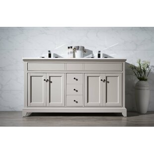 Leola 59 Double Bathroom Vanity Set by dCOR design