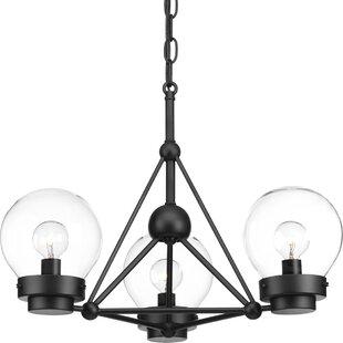 Wrought Studio Cecere 3-Light Semi Flush Mount