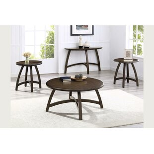 Hegg 3 Piece Coffee Table Set