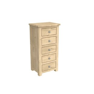 Aldridge 5 Drawer Chest By August Grove