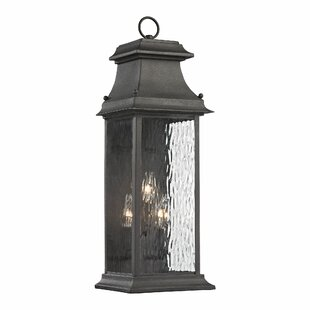 Budget Maxen 3-Light Outdoor Wall Lantern By Alcott Hill