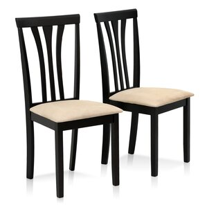 Elegant Douglas Solid Wood Side Chair (Set Of 2)