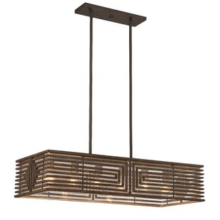 Brayden Studio Wendland 8-Light Kitchen Island Pendant