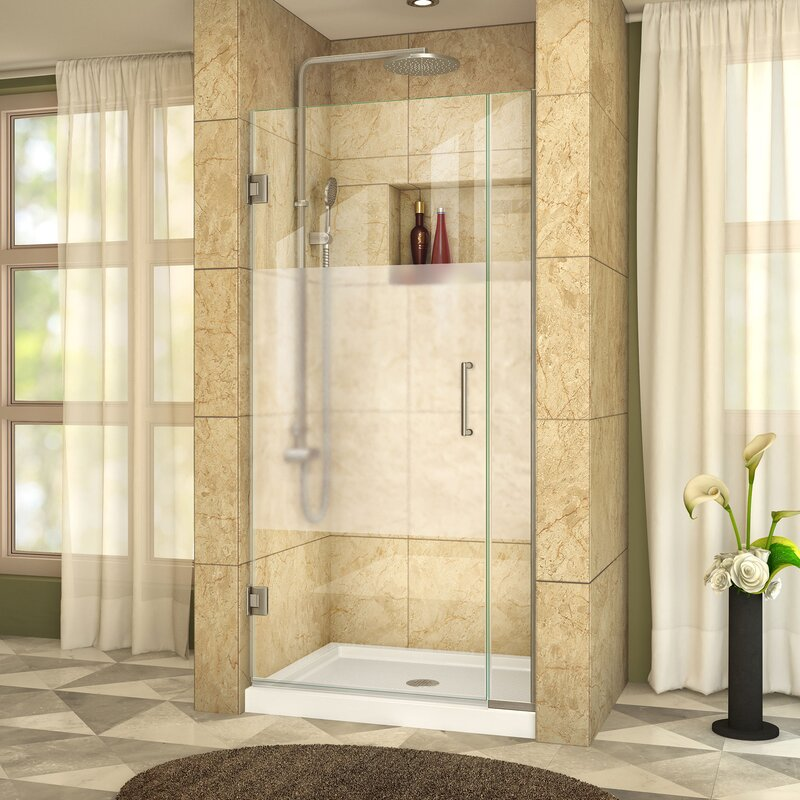 Unidoor Plus 37 X 72 Hinged Shower Door