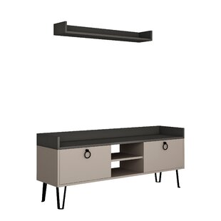 Review Silkgrass TV Stand For TVs Up To 55