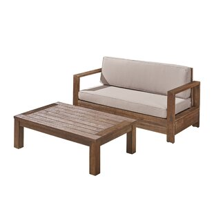 Landis 2 Piece Sofa Seating Group with Cushion