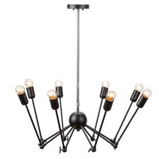 Nuevo Rebecca 8-Light Sputnik Chandelier