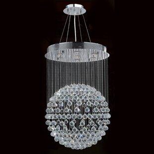 Coupon Latrobe Contemporary 7-Light Chandelier By Orren Ellis