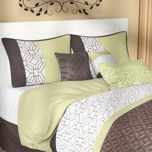 Taunton 7 Piece Comforter Set by Red Barrel Studio