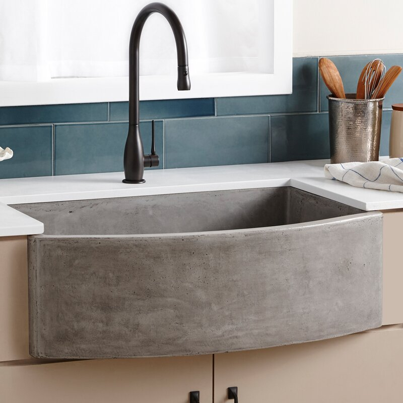 Are Kitchen Sinks Made Of Native trails 33 x 21 farmhouse kitchen sink reviews wayfair 33 x 21 farmhouse kitchen sink workwithnaturefo