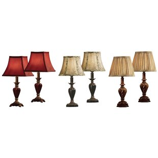 6 Piece 17 Table Lamp