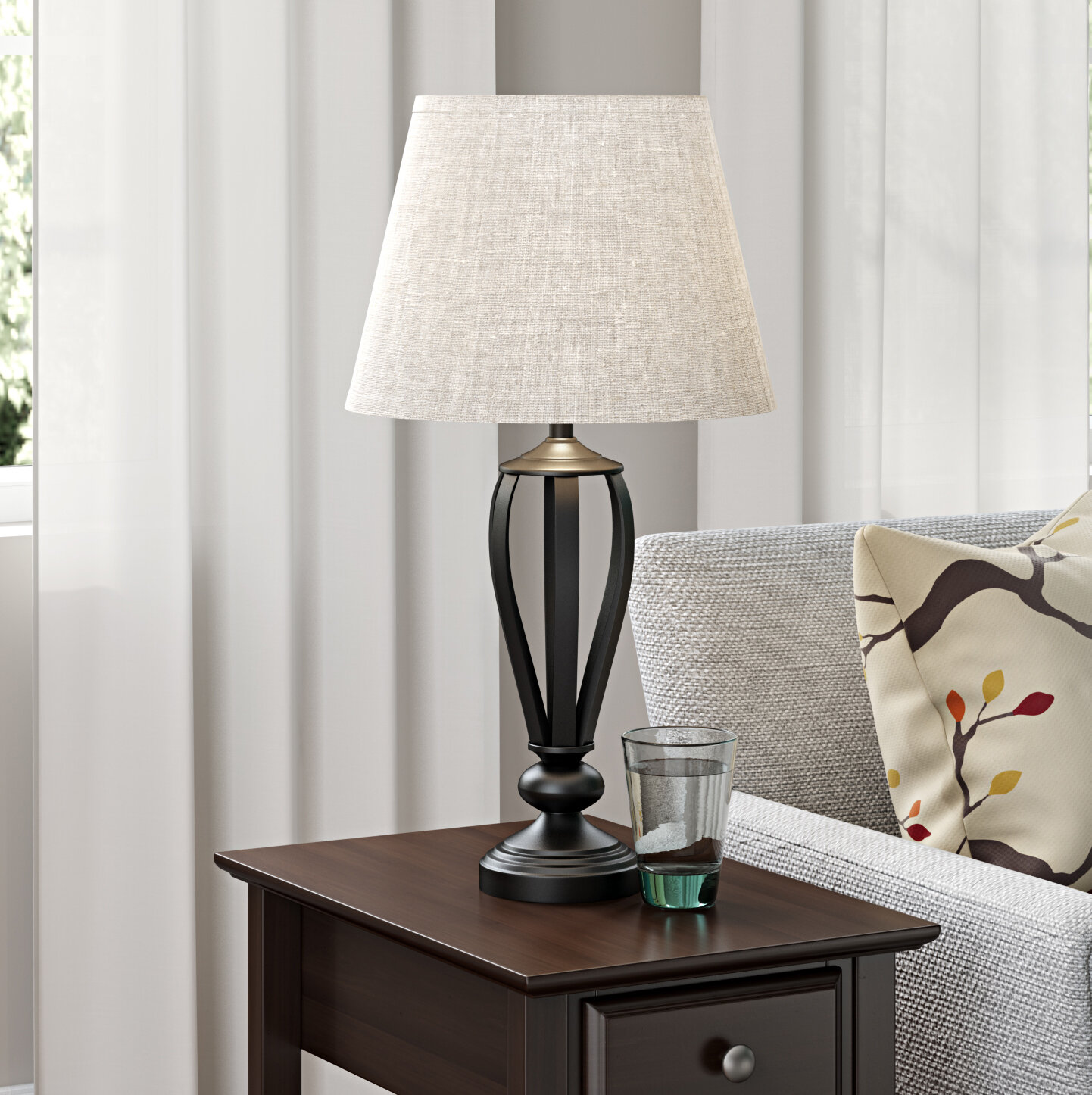 Three Posts Gainseville 296 Table Lamp Reviews Wayfair
