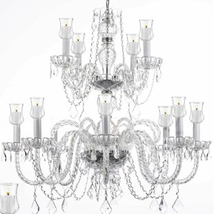 House of Hampton Kemmer 12-Light Chandelier