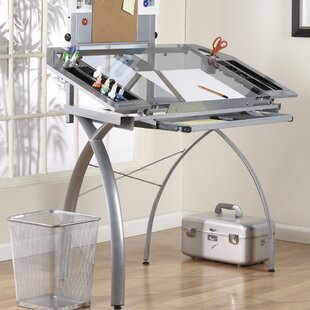 Reviews Dash Drafting Table by Latitude Run