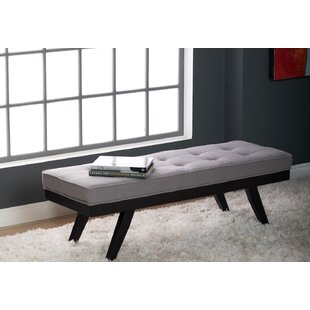 Wendell Tufted Upholstered Bench by Wrought Studio