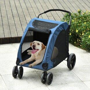 Ewell Folding Standard Stroller with Detachable Carrier