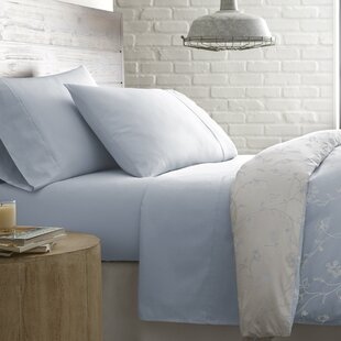 Lockport Solid 300 Thread Count 100% Cotton Sheet Set