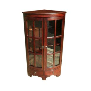 Corner Accent Cabinet (Set of 2) by D-Art Collection
