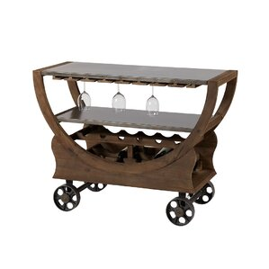 Veroniza India Trolley Bar Cart by 17 Sto..